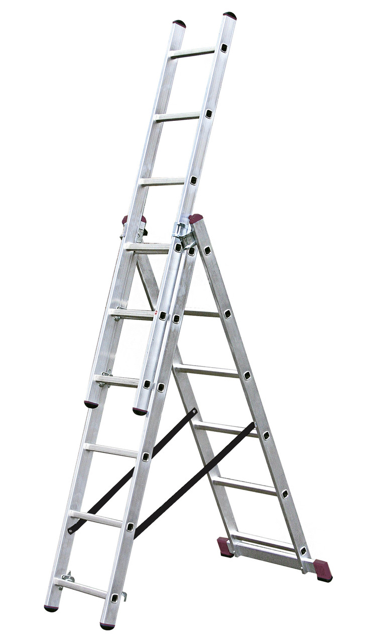 Лестница универсальная 3х6 Krause Corda (030368)