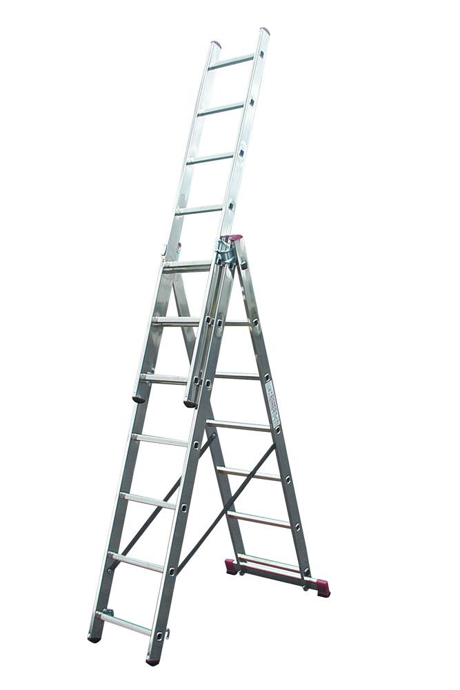 Лестница универсальная 3х7 Krause Corda (030375)