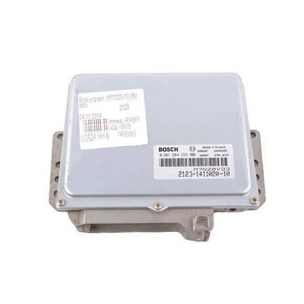 Контроллер системы управления двигателем Bosch 2123-1411020-10, фото 2