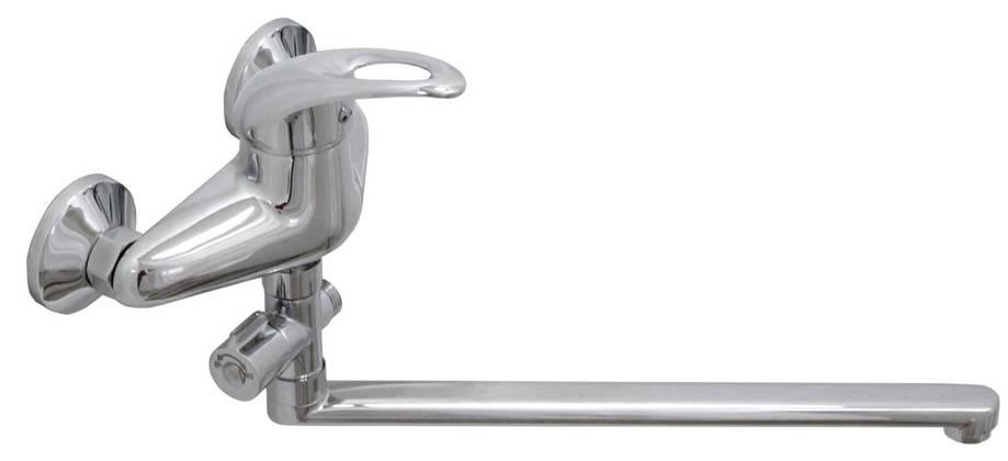 Смеситель для ванны Globus Lux SMART GLSM-0108,L-300, душевой комплект, фото 2