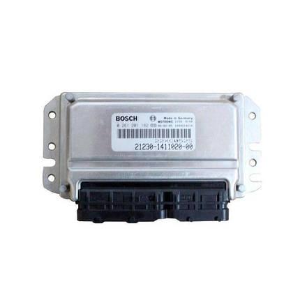 Контроллер системы управления двигателем Bosch 21230-1411020-00, фото 2