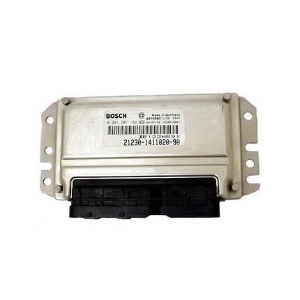 Контроллер системы управления двигателем Bosch 21230-1411020-90, фото 2