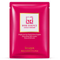 Маска-салфетка для лица тонизирующая с розовой эссенцией IMAGES Rose Essence Mask (30г)
