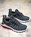 Мужские кроссовки Nike Shox Gravity Grey/White/Black, фото 2