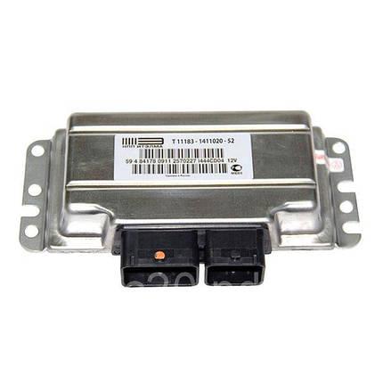 Контроллер системы управления двигателем НПП Итэлма 11183-1411020-52 М74, фото 2