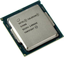 Процессор Intel Celeron G3900 (2,8GHz, 2MB, s1151) (BX80662G3900) Box