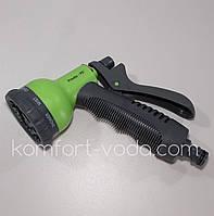 Пистолет поливочный Presto-PS 7202G, 8 режимов