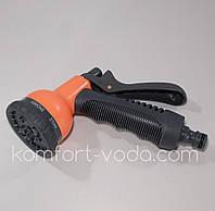 Пистолет поливочный Presto-PS 7202, 8 режимов