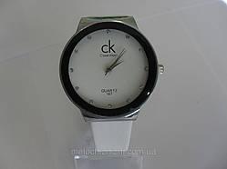 Жіночі годинники quartz білі срібло (Арт. 167)