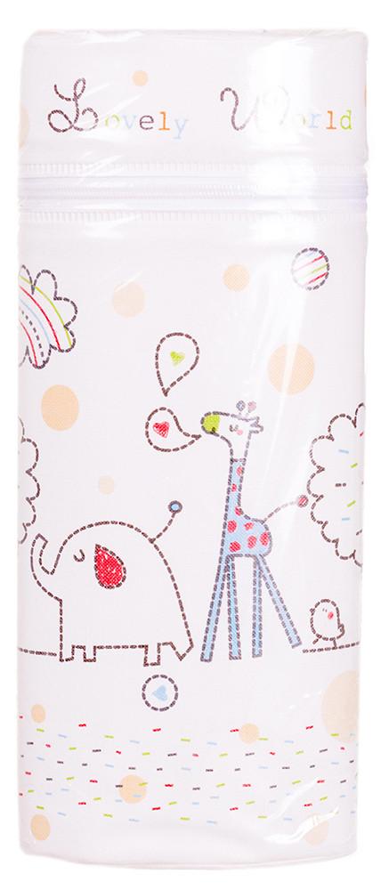 Термоконтейнер Ceba Baby Jovely World 70X80X230 мм Универсальный белый (жираф, слон)