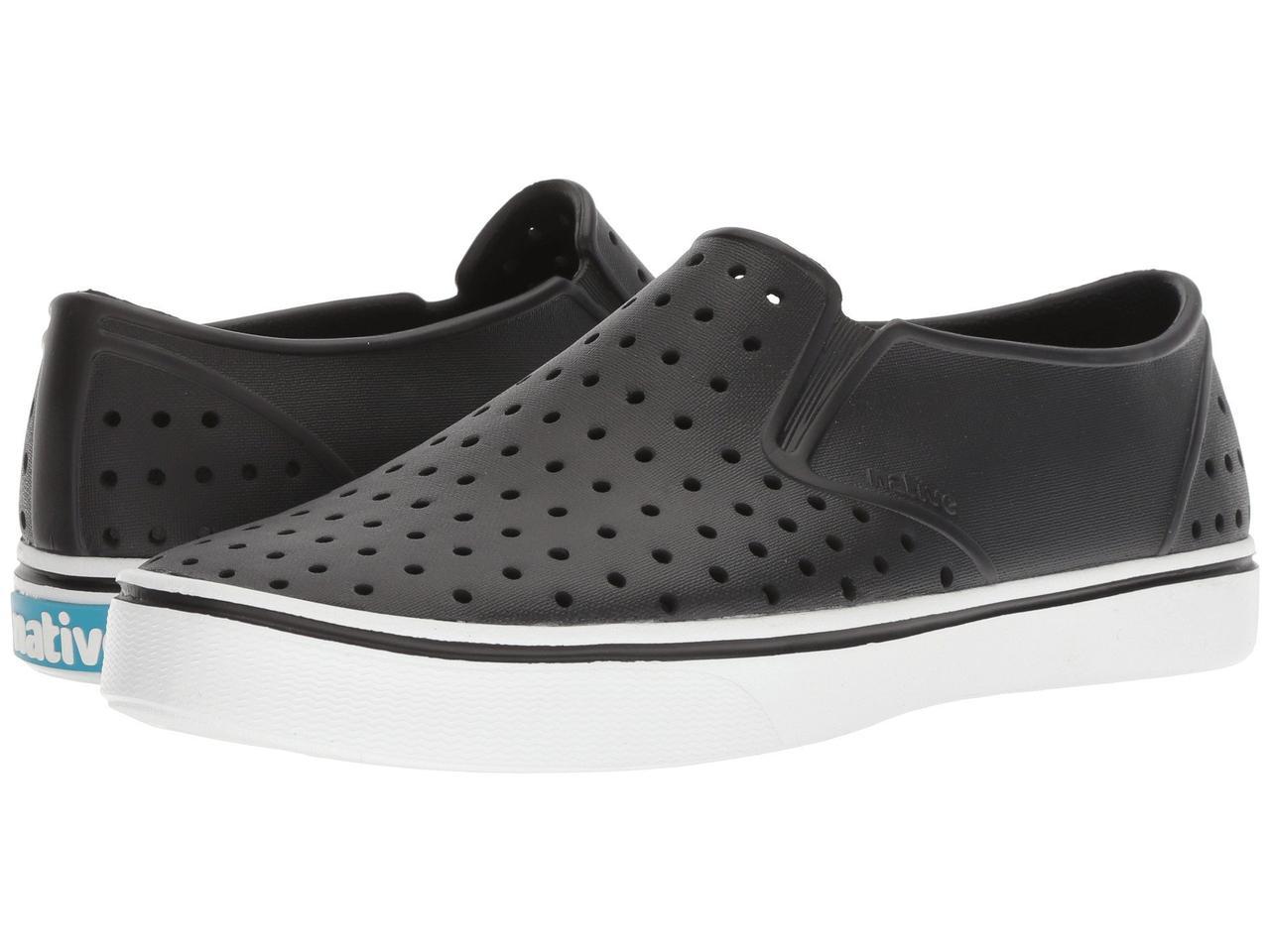 Кроссовки/Кеды (Оригинал) Native Shoes Miles Jiffy Black/Shell White