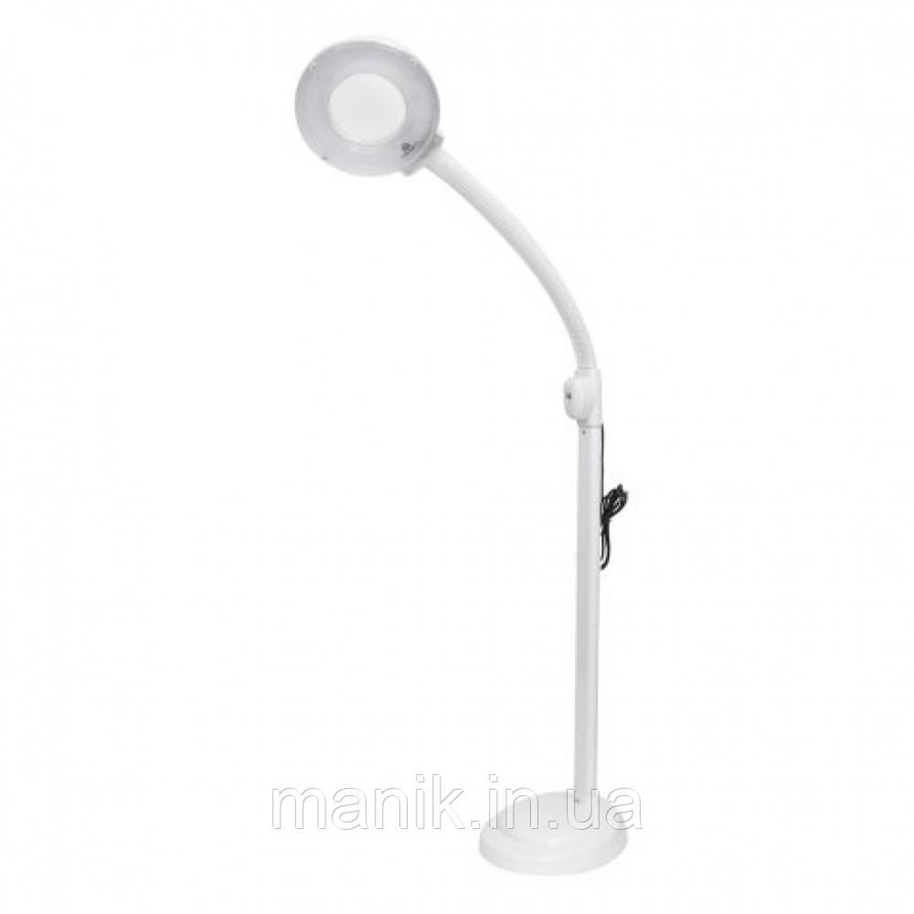 Лампа лупа косметологическая LED SP-30 (гофра)