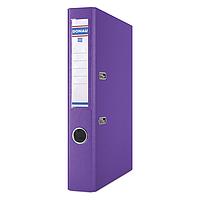 Папка регистратор А4 donau 3955001pl-23 фиолетовый premium ширина торца 50 мм