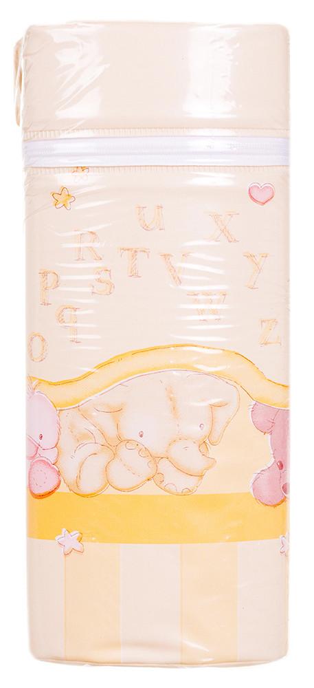 Термоконтейнер Ceba Baby Jumbo 70*80*230мм Универсальный Беж-Желтый (Зайцы,Слон,Медведь)