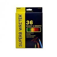 Цветные карандаши marco bright smooth 36 цветов (4100-36cb)