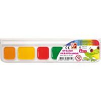 """Акварель 7 кольорів """"Захоплення"""" пластикова коробка без пензлика 312040"""