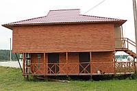 Смотровой домик с раздевалками