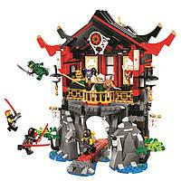 """Конструктор Bela 10806 """"Храм Воскресения"""" 809 деталей - аналог Lego Ninjago 70643 KK"""