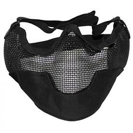 """Защитная маска """"страйкбол"""" черная"""