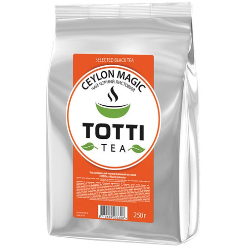 Черный чай TOTTI Tea Магия Цейлона 250 г