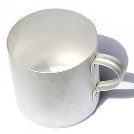 Кружка армейская алюминиевая (послевоенный период)