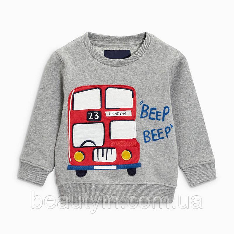 Кофта для хлопчика Автобус Little Maven