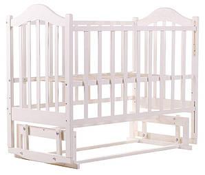 Кровать Дина Клен (Маятник) Крашеная белая