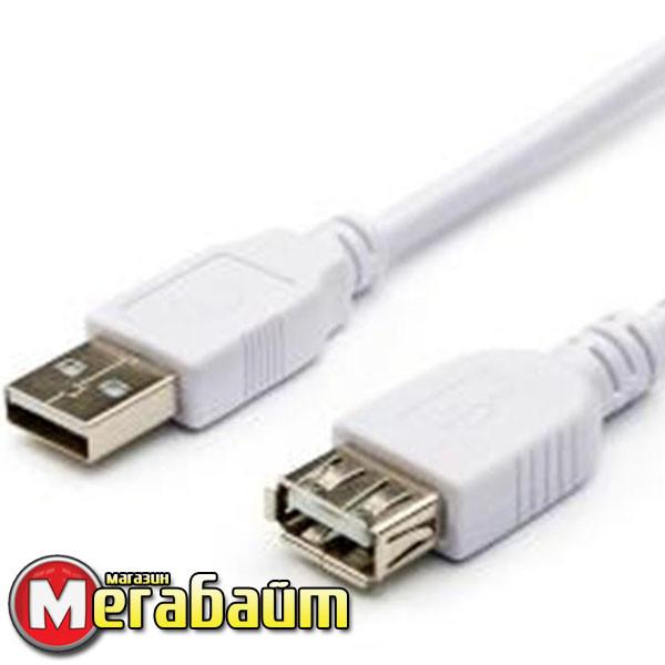 Кабель ATcom удлинитель USB2.0 AM/AF 0.8 м
