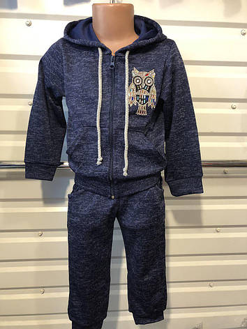 Спортивный костюм для девочки Сова р.92-116, фото 2