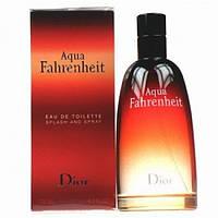 Мужские ароматы  Dior Aqua Fahrenheit 100ml (изысканный, мужественный аромат)