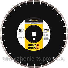 Алмазные круг для асфальта 400 x 3,8/2,8 x 10 x 25,4-11,5-28 HIT Asphalt Pro BAUMESSER