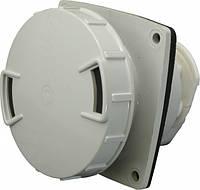 Розетка стаціонарна для прихованої проводки SEZ IEG 6343 3P+PEN 63A 380V  IP67 dcaab95cd77f5