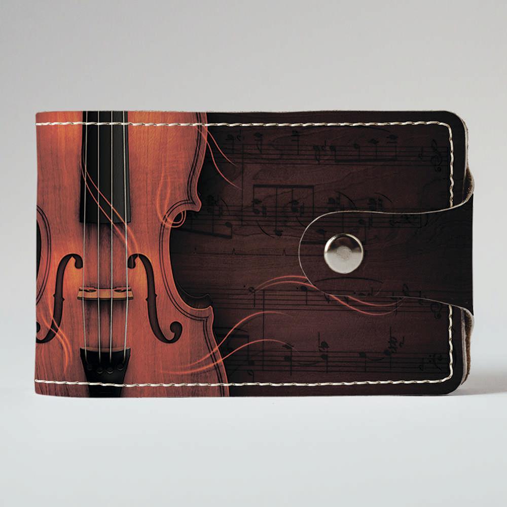 Визитница v.2.0. Fisher Gifts 208 Скрипка (эко-кожа)