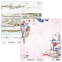 Папір двосторонній - 02 - Marina - Mintay Paper - 30x30