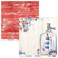 Папір двосторонній - 03 - Marina - Mintay Paper - 30x30
