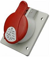 Розетка стаціонарна для прихованої проводки SEZ IEN 3253 3P+PE+N 32A 380V  IP44 bb1b0af7f9f8e