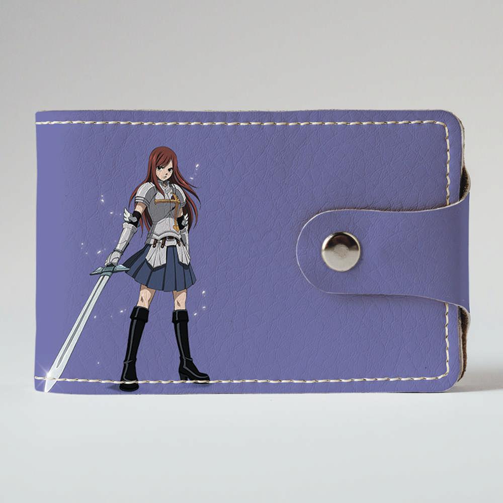 Визитница, картхолдер 2.0 Fisher Gifts 393 Fairy Tail 6 (эко-кожа)