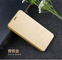 Чехол книжка Mofi Star для Xiaomi Redmi 5 Plus Gold (Золотой), фото 1