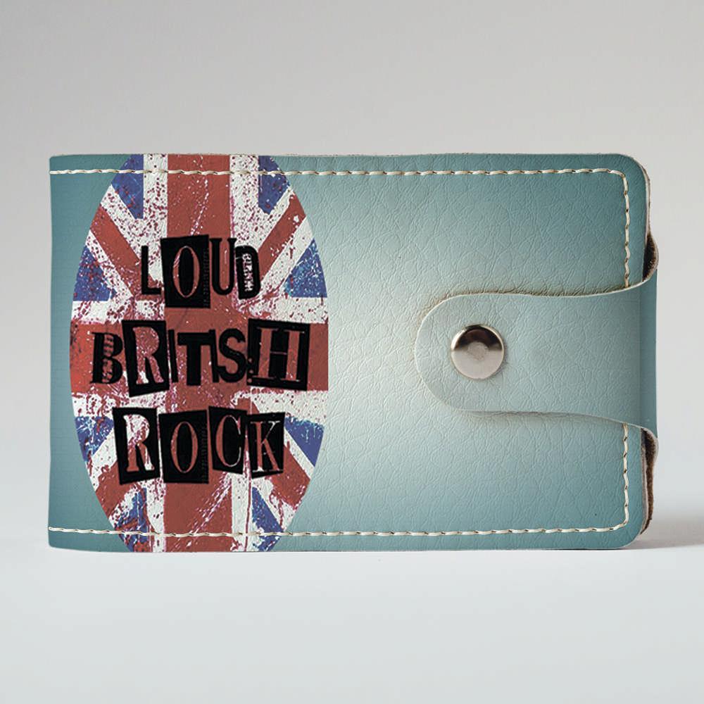 Визитница Fisher Gifts v.2.0. 895 Loud british rock (эко-кожа)