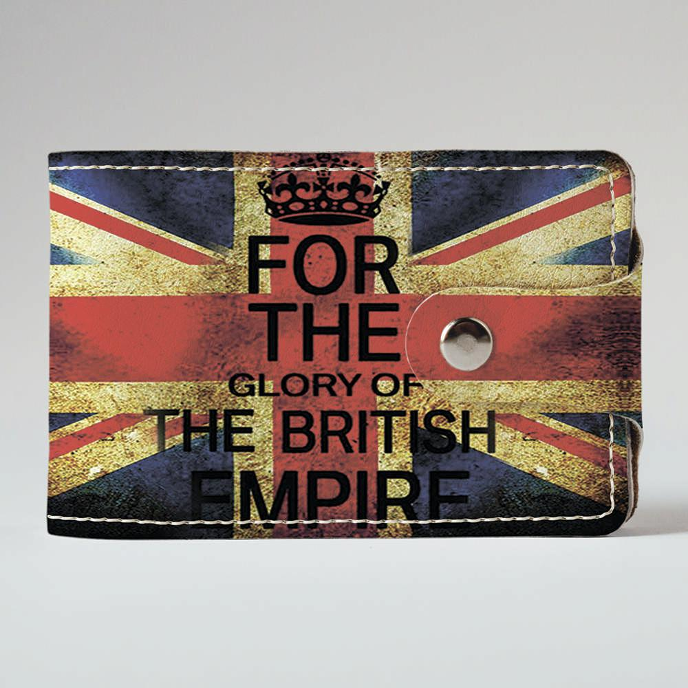 Визитница Fisher Gifts v.2.0. 897 Флаг Великобритании 3 (эко-кожа)