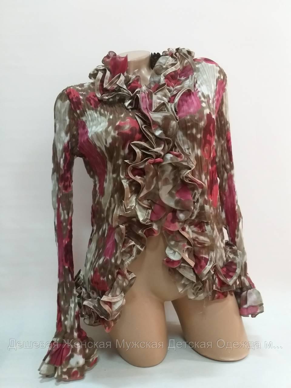 Блузка женская. Микс размеров и расцветок. В упаковке 10 шт.