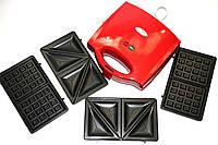 Тостер универсальный Wimpex 3в1 WX1056/1057, фото 1