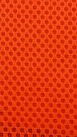 Сетка обувная на поролоне airmesh оранжевая