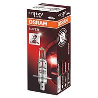 Галогенная лампа Osram H1 SUPER 12V 64150SUP-FS (1шт.), фото 1