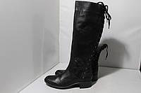 Женские кожаные сапоги San Marina, 38р., фото 1