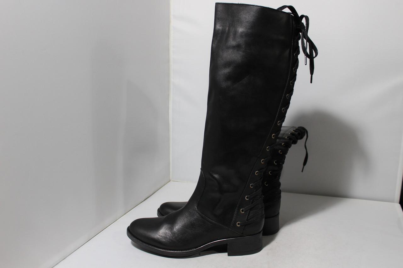 Женские кожаные сапоги San Marina, 38р.