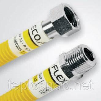 """Гибкий шланг Eco-Flex 1/2"""" ВВ 120 см. для газа/пвх/super"""
