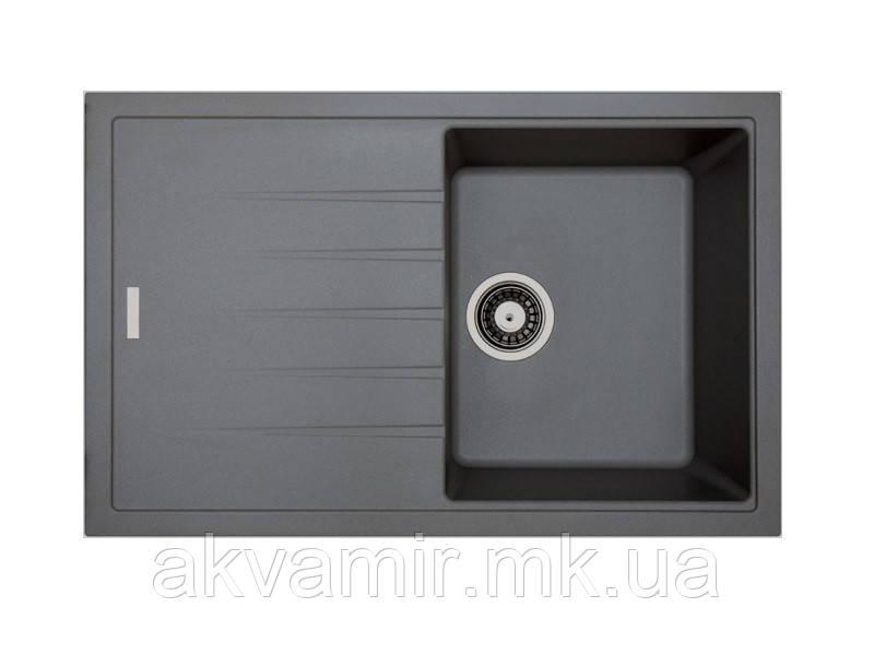 Мойка для кухни Fabiano Classic 78x50 Titanium (титаниум)