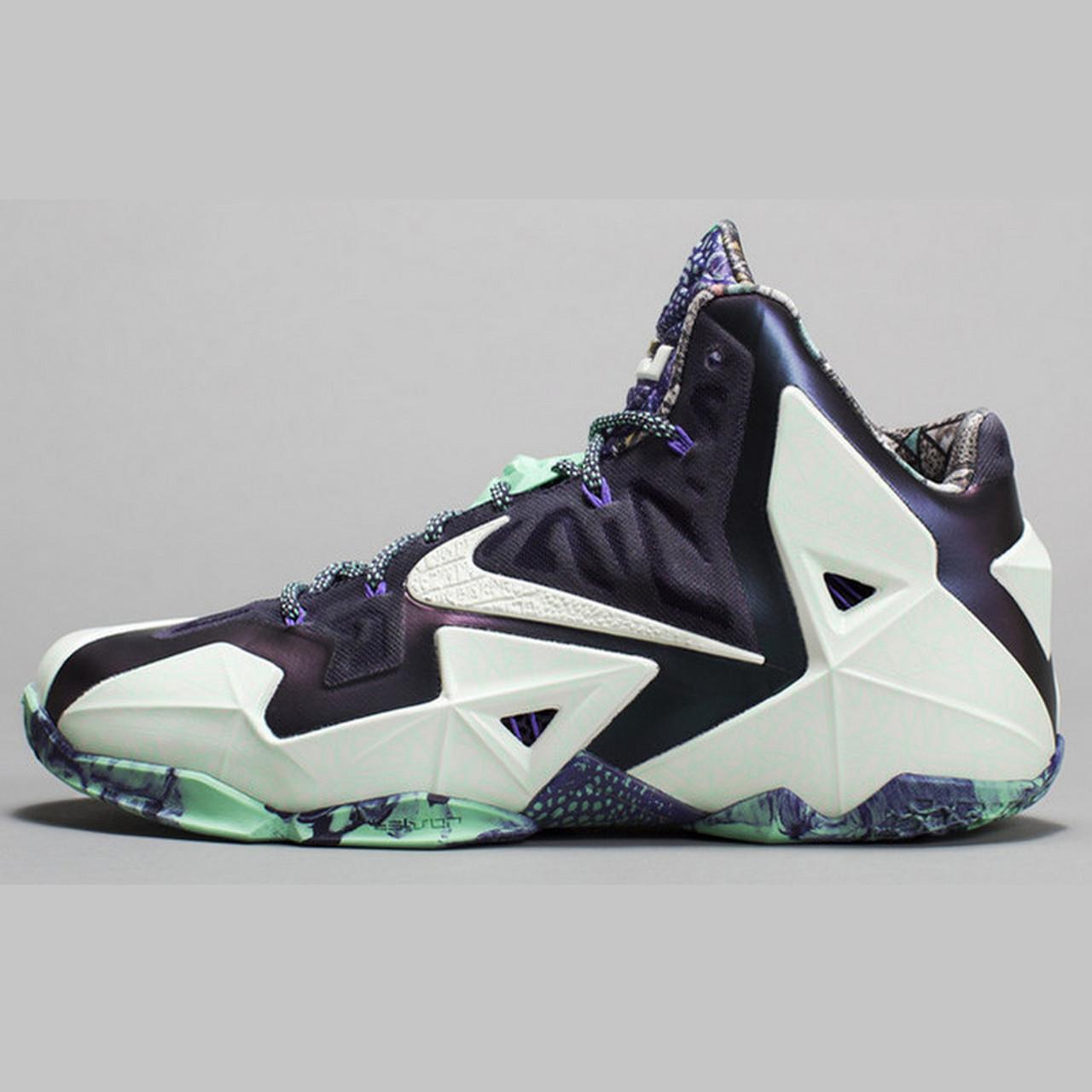 Кроссовки баскетбольные Nike LeBron 11 AS All Star Game Gator King  647780-735 (в стиле Найк) 814bb18f423
