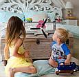 """Полочка в детскую для книг и игрушек """"Вертолёт"""", фото 2"""